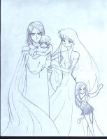 Snape Family by BariAngel