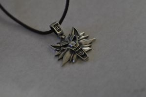 Witcher Necklace by Worldofjewelcraft