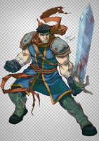 battle chasers Garrison by yinfaowei