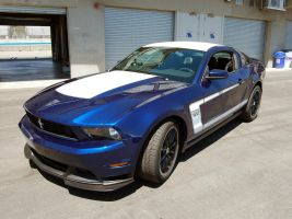 2011 Boss 302 at Laguna Seca by Partywave