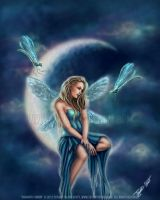 Dragonfly Moon by autumnsmuse