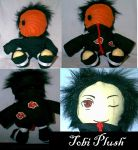 Custom Plushie - Tobi by Necronomical