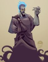 Hades - EWG Christmas Commission by EryckWebbGraphics