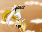 C: Kai's Flying demonstration by Geeflakes-art