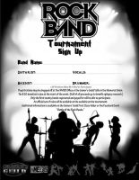 Rock Band Tournament Sign Up by Sh4d0w-W01f