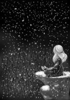 Snowing by Lallune