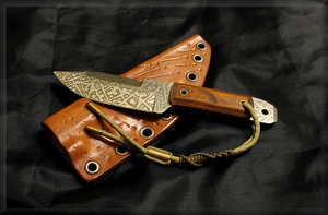 Collaborations with FishWolf Knives by GRIFFIN-HAWKS