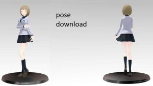 mmd pose download by LoveChibi