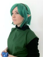 :Saria: Keep up the good work, Link! by ChibiSerenade