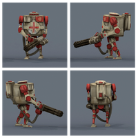 Low-Poly Hand Painted Bramble MK2 Medic (WWR) by JGrainger