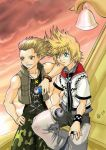Roxas and Hayner - KH2 by Autumn-Sacura