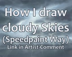 Cloudy Sky Tutorial by Dea-89