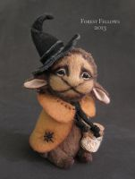 Witch Faun by Forest-Fellows