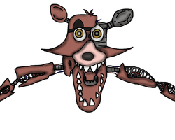 Withered Foxy by skyllys2