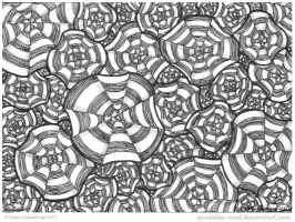 Pinwheel Collab by Quaddles-Roost