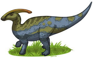 The Archotek Project - Parasaurolophus by LeviaDraconia