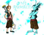 Oni Rumble! Redesigns 3 by Inudono19