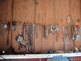Rusted Tools by Altaria13-Stock