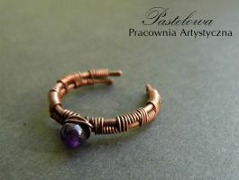 Amethyst ring by Pastely