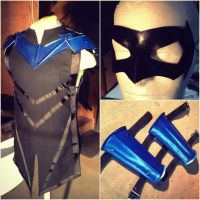 Medieval Nightwing by shanclaw