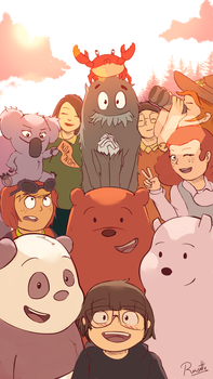 We Bare Bears - Anniversary by Brian-Rousette