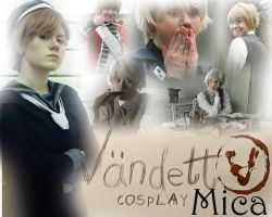 VandettA Cosplay - Mica Collage by KiGiMiTo