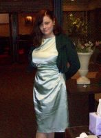 Mint Green Dress Sewing Projects by annjepsen