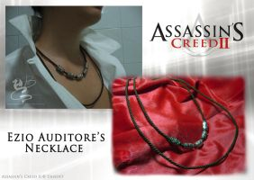 Cosplay: Ezio's Necklace by NocturnaDraco
