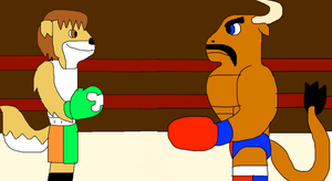 Small Mike VS. Pepsi Popper by adamRY