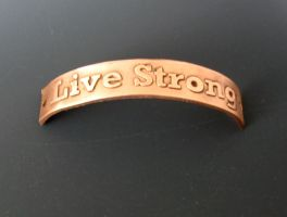 Live Strong Nameplate by Peaceofshine