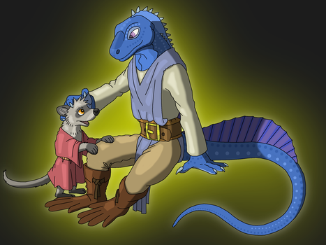 JacktheLizard Commission by Salvestro