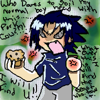 Relax Sasuke.Its just a muffin by Cb-Chan