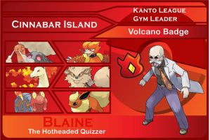 Kanto Gym Leader 7-Blaine by JohnRiddle20