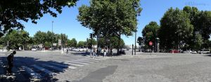 Panoramic of Place Valhubert by EUtouring