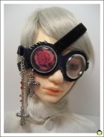 Kamen Rose Patch Goggles by j-han