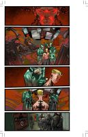 THE END LEAGUE Issue 5, Pg01 by EricCanete