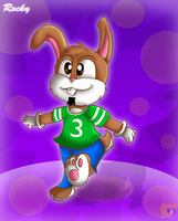 Gift rocky rabbit by HG-The-Hamster