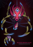 Blood Moon Elise Spider Form by sstrikerr