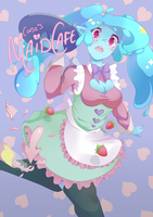 Corse's maid cafe by iMidxNight