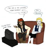 watching Game Of Thrones - randomness 1 by CaptainLaura