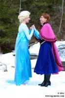 Anna and Elsa: Together at Last! by Usagi3x4