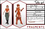 Fragments : Erisa Brown - Tetsu girl (WIP) by mopolo95