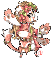 079 - Pink Orchid Mantis by TheKingdomOfGriffia