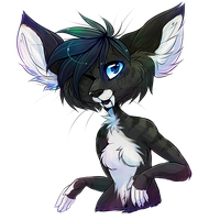 YCH commission bust by pandoras-island
