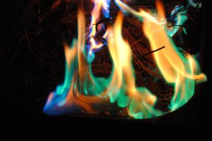 blue fire by AngelicPicture