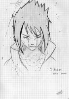Sasuke crying by nekosakurita