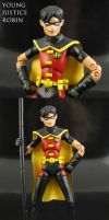 Young Justice Robin action figure by Jin-Saotome