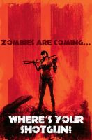 Zombies are coming... by HotDogVamp