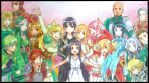 Sword Art Online Season 1 Family by Ashreille-chan