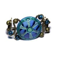 Steampunk Jewelry Sapphire by CatherinetteRings